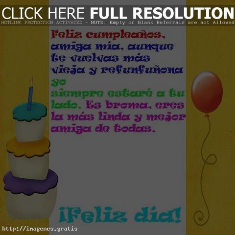 Frases de Feliz Cumpleaños