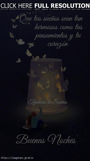 Postales con saludos de Buenas Noches para enviar por Facebook