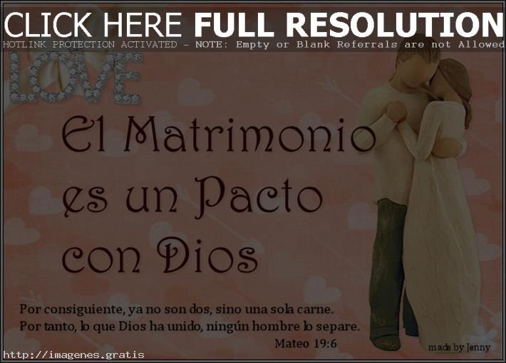 Famoso El matrimonio es un pacto con Dios | IMÁGENES GRATIS TY41