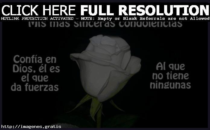 Mensajes con condolencias de fallecimiento y pésame