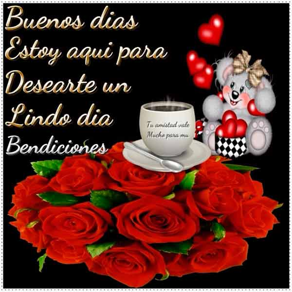 Feliz Buenos días