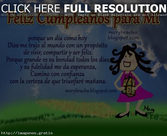 Para Felicitar en Cumpleaños