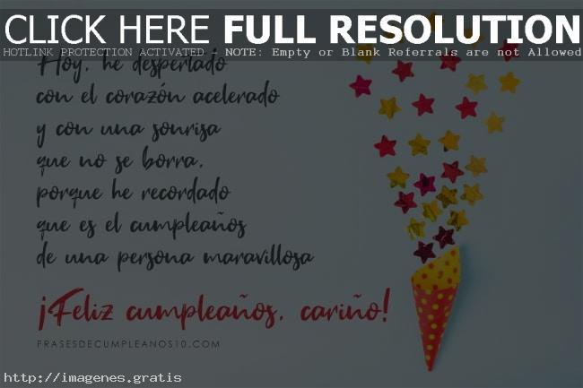 Tarjetas virtuales con mensajes para Felicitar en Cumpleaños