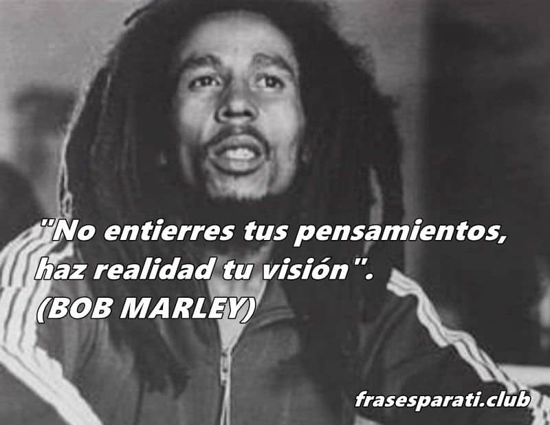 Grandes frases de Bob Marley para la vida