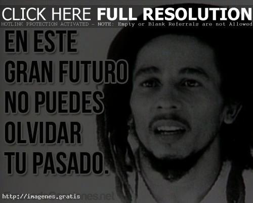 Pensamientos de vida celebres con frases de Bob Marley