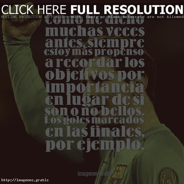 Frases e Inspiraciones de Leo Messi