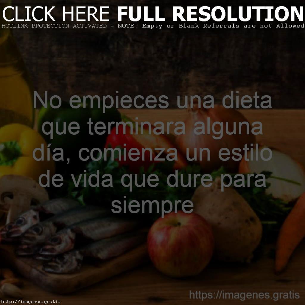 Reflexiones sobre la buena nutrición que comemos