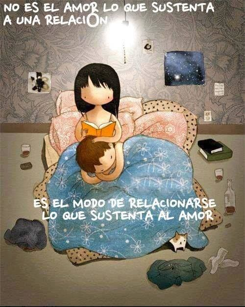 El verdadero amor viene en silencio
