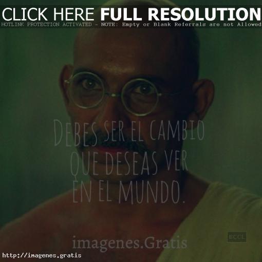 Mahatma Gandhi: Frases, citas y mensajes célebres de Vida