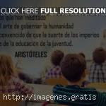 Reflexiones para saber que la civilización se basa en la educación