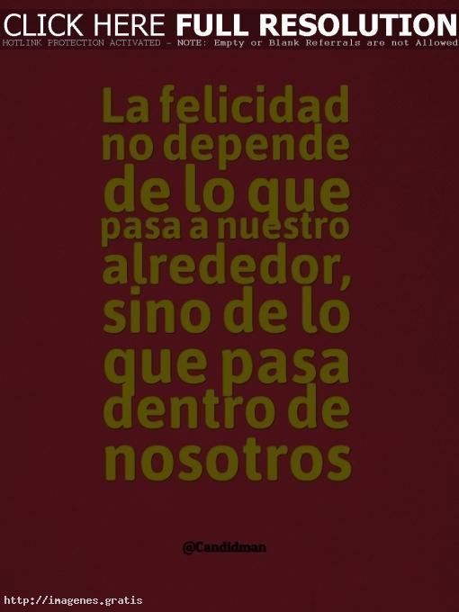 La felicidad es una dirección, no un lugar