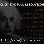 Einstein sabía reflexionar