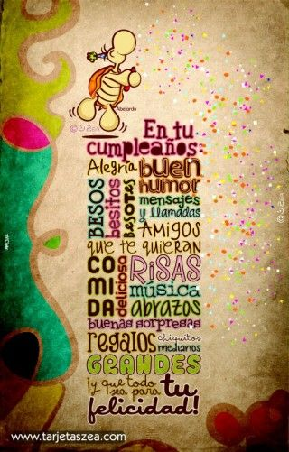Cumpleaños de tus seres queridos
