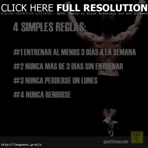 Ejercicios fáciles para la motivación al entrenar