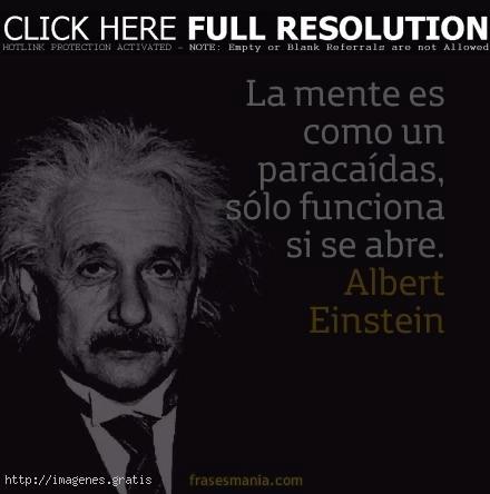 Reflexiones profundas de Einstein