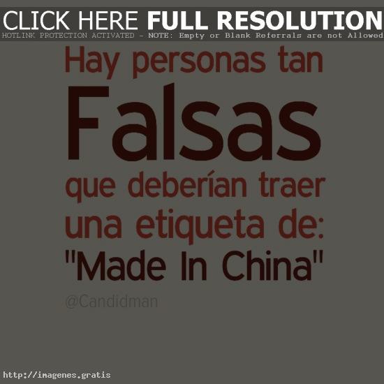 Hablar bien de tu amigo y los falsos