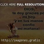 No te quejes con Dios