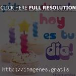 Pide un deseo, hoy es tu dia de cumpleaños!