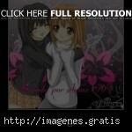 Imagenes de Anime con frases de amistad