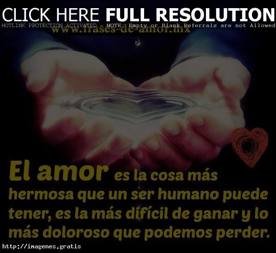 Frases De Amor Es La Cosa Mas Hermosa Imagenes Gratis