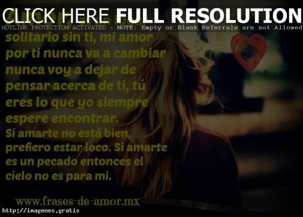 Frases De Amor Es Un Lugar Solitario Sin Ti Imagenes Gratis