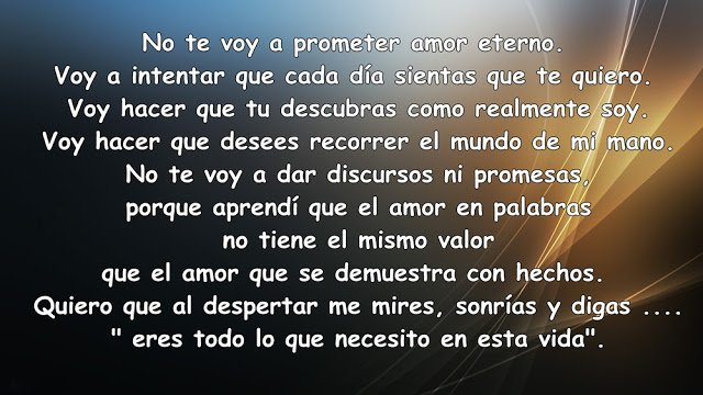 Frases De Amor No Te Voy A Prometer Amor Eterno Imagenes Gratis
