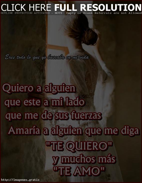 Frases De Amor Quiero A Alguien Imagenes Gratis