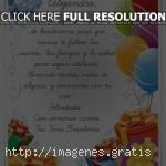 Dedicatorias de feliz cumpleaños en postales con mensajes bonitos