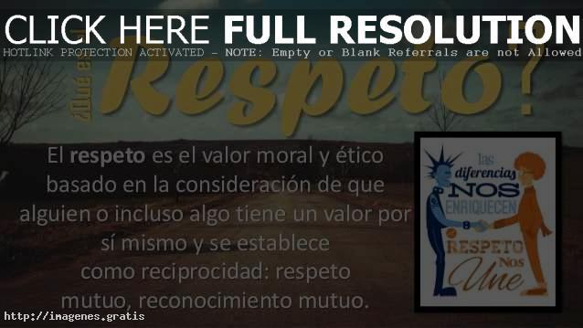 Frases De Respeto El Banco De Imagenes Gratis