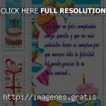 Pensamientos de cumpleaños