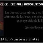 Pensamientos de Simon Bolivar