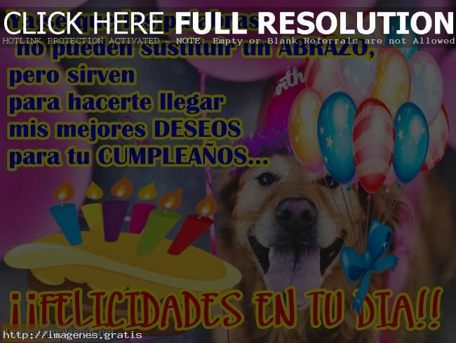 Imagenes y fotos de feliz cumpleaños con mensajes de felicitaciones
