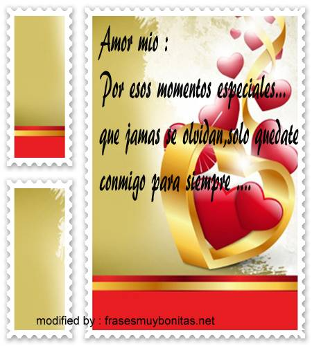 Postales hermosas con mensajes de amor para regalar a tu novia