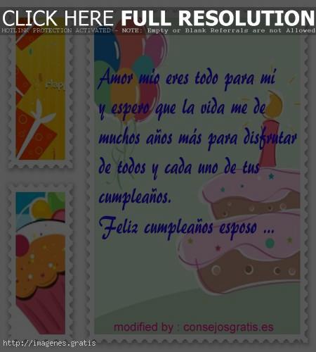 Postales de cumpleaños para mi amor de la vida