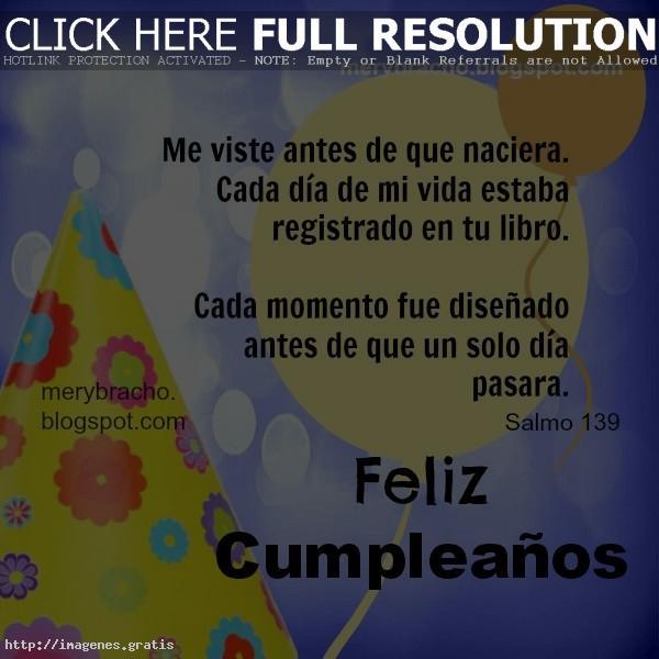 Mensajes para messenger de feliz cumpleanos en espanol