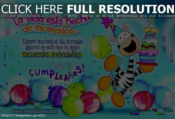 Postales Felicitaciones Originales Feliz Cumpleanos Saludar 6 - Tarjeta-felicitacion-cumpleaos-original