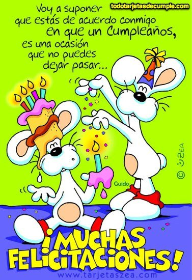 Postales con Felicitaciones originales de Feliz cumpleaños para saludar