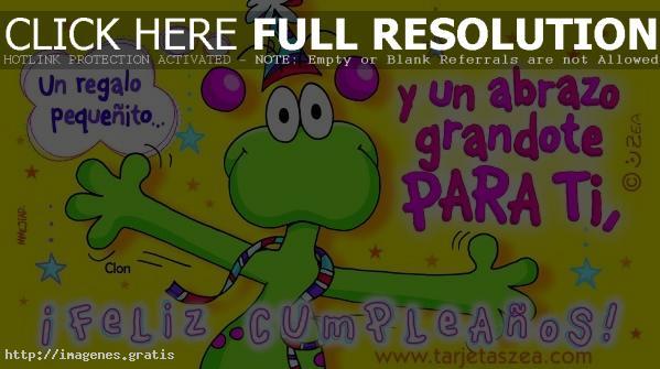 Tarjetas de cumpleaños chistosas animadas y virtuales