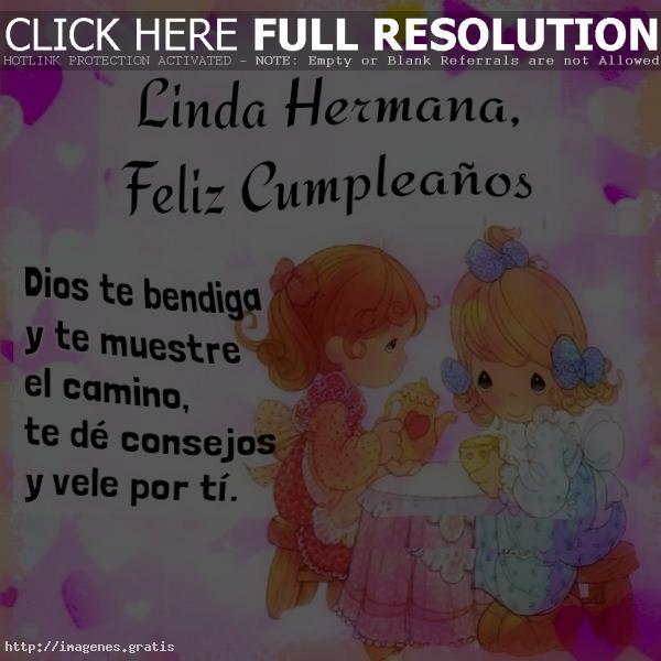 imagenes de feliz cumpleaños hermana gratis