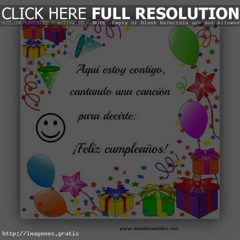 Fotos con mensajes de feliz cumpleaños para enviar