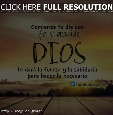 Frases de Dios para bendecir a tus amigos y familiares