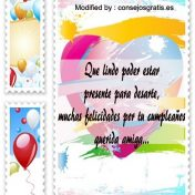 Tarjetas de cumpleaños con felicitaciones bonitas gratis
