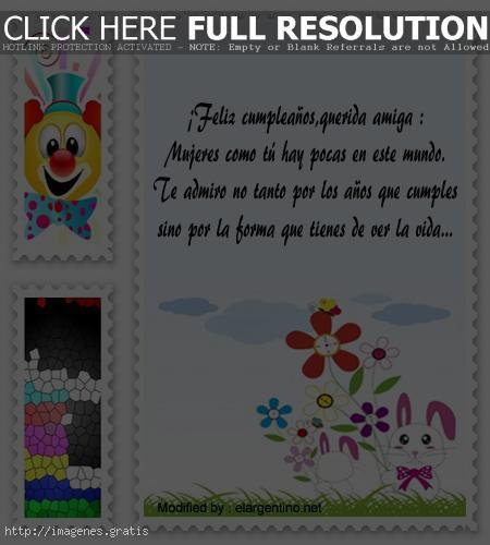 Tarjetas postales cumpleañeras para descargar con fotos y mensajes bonitos