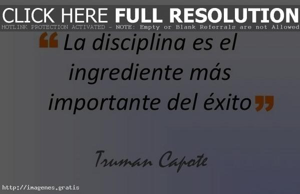 Palabras en español de exito personal