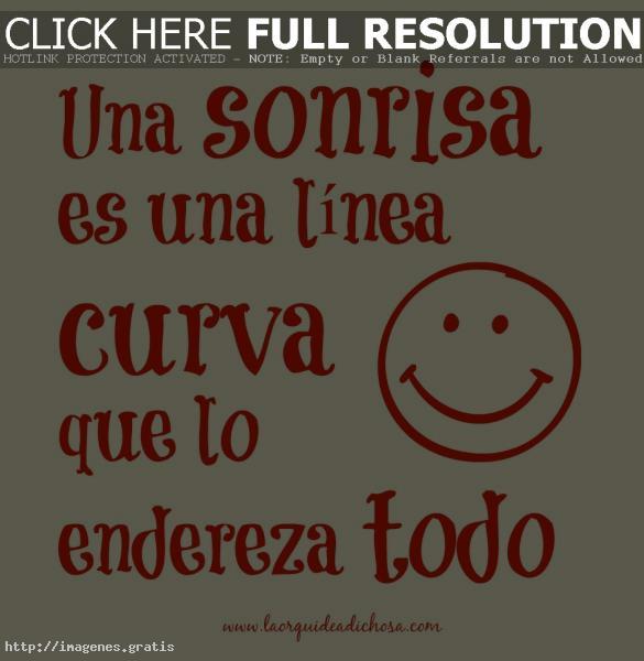 Frases con reflexiones para sonreír mas y contagiar la buena onda