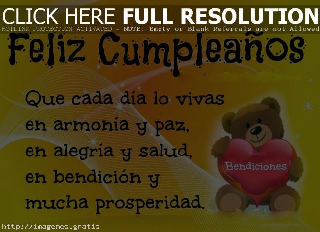 Saludos y bendiciones de feliz cumpleaños