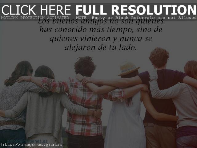 La amistad es amigo de por vida y con estas Frases hermosas podras compartir a tus amigos no falsos