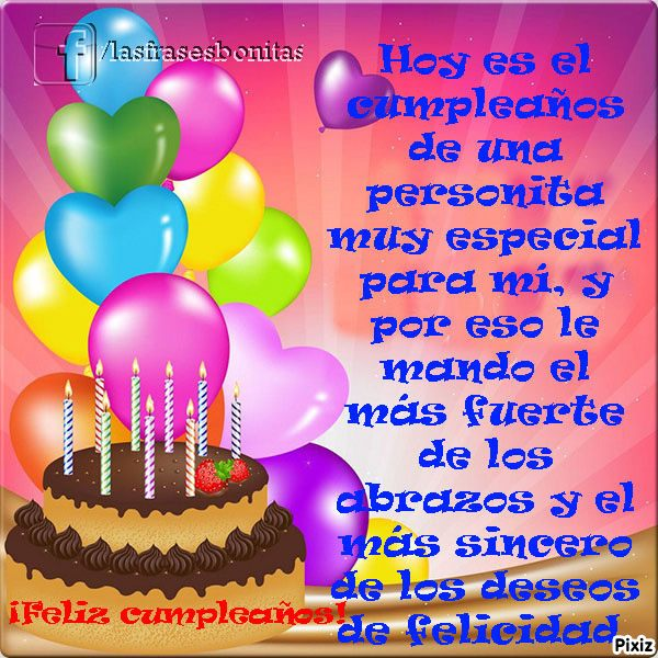 Bonitas Felicitaciones de Cumpleaños con mágicos mensajes para enviar