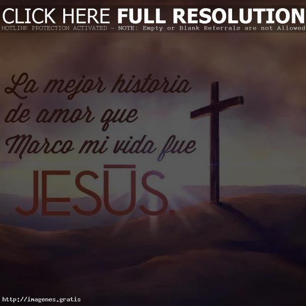 Postales con la figura de Jesús y sus oraciones para dedicar cuando alguien este triste