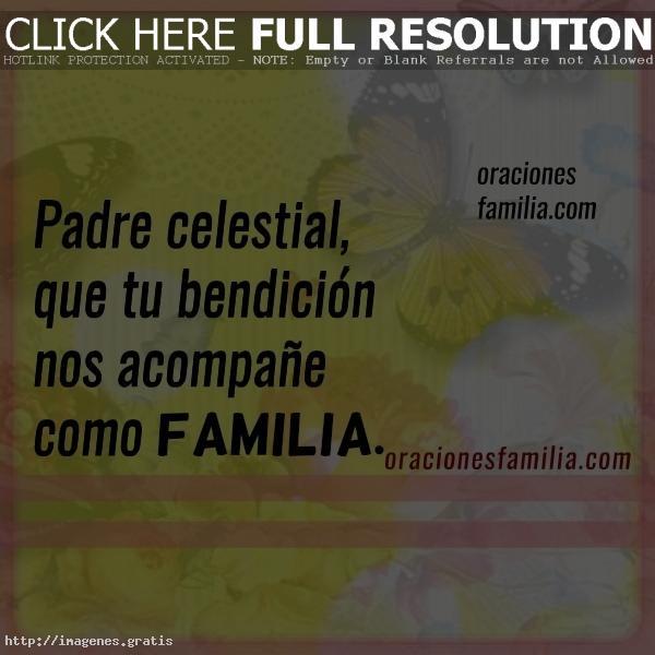 Bendiciones para Familias de Dios
